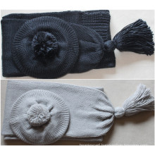 (LKN15033) Promotional Winter Knitted Scarf