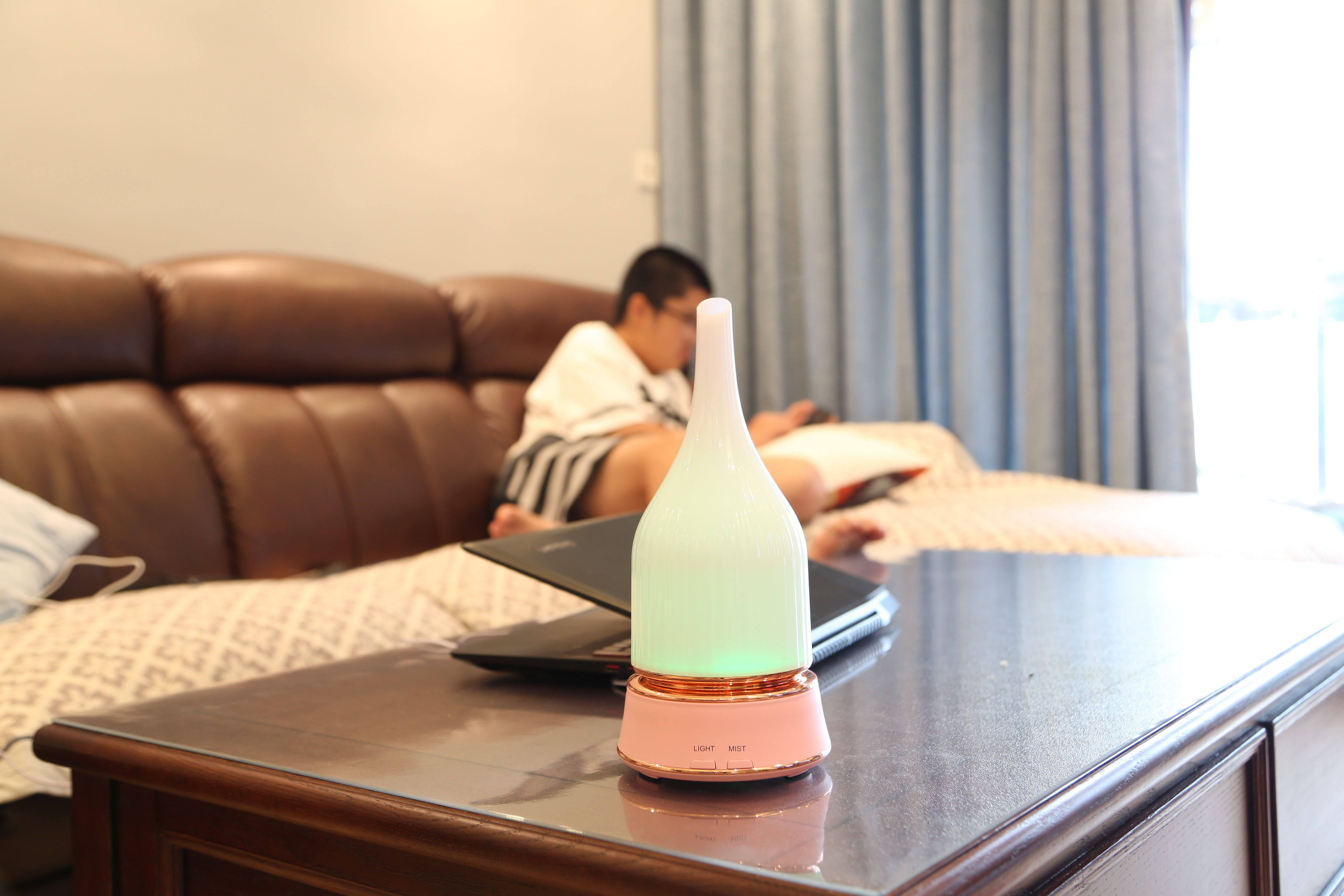 LED Light Humidifier Ultrasonic Aromatherapy
