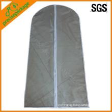 promotion eco reusable PEVA suit cover garment bag