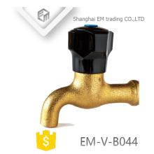 EM-V-B044 Black polo brass bibcock tap