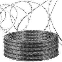 Wires Hot Dipped Razor Blade Barbed Concertina Wire Toilet Seat Length Per Roll Price For Sale