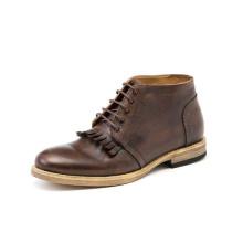 Mode echtes Leder Männer Lace-up Schuhe (NX 441)