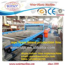 400kg / h das meiste Berufs-PVC-WPC-Schaumbrett, das Maschine herstellt