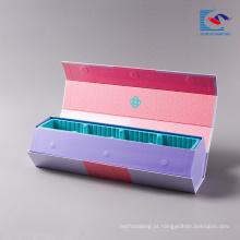 Caixas impressas personalizadas personalizadas decorativas para a embalagem do bolo