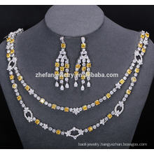 bridal necklace and earring jewelry set incredible shiny jewelry help catch people's eyes