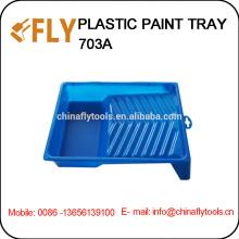 """Bandeja de pintura plástica azul de 7 """"-8"""""""
