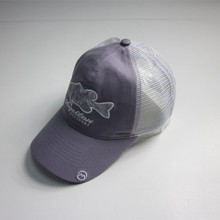 Fashion Fish Stickerei Mesh Cap