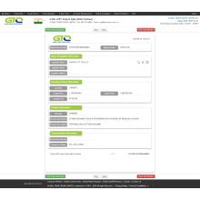 Amostra de dados de importação de máquina CNC Índia