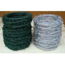 Arame farpado revestido galvanizado do PVC da segurança com 20 anos de porta do Xingang da fabricação de China
