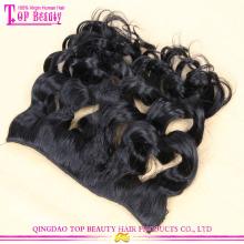 2016 популярный клип в наращивание волос Оптовая продажа высший сорт 7А высокое качество вьющиеся клип в наращивание волос