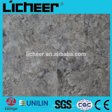 pvc luxury vinyl tile manufacturer flooring/ slated surface 4.0mm PVC FLOORING VINYL TILE