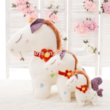 Alta calidad Lovely Plush Horse Toys Wholesale