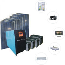1KW Stacaravan off Grid Solar systeem