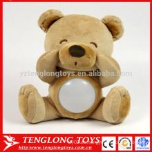 Fabricante lindo LED de peluche oso de juguete