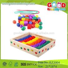 Brinquedos Educativos Pequenos Brinco Inteligente Colorido De Bolo Diy Bead for Kids