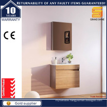 Wall Mounted MDF Melamine Bathroom Vanity Cabinet with CE Certificate