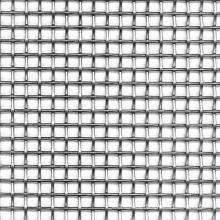 square hole woven galvanized steel wire mesh for automobile parts