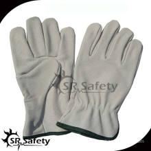 SRSAFETY pig split leather driving gloves