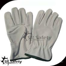 SRSAFETY свиные сплит-кожаные перчатки