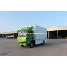 Véhicule frigorifique électrique pur du Shaanxi auto