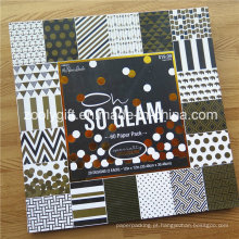 "Personalizar impressão 12 x 12 ""Folha de Ouro Scrapbook Paper Pack / DIY decorativos Scrapbooking Paper Pad"