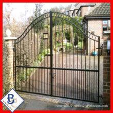 swing single steel gates