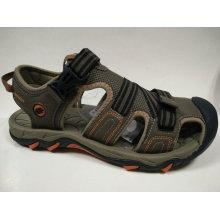 Zapatos de goma de los hombres Casual Sandalias de cuero