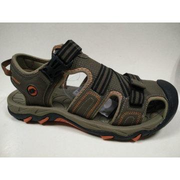 Men′s Rubber Shoes Casual Leather Sandals