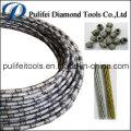 Plastic Coating Granite Stone Quarry Marble Slab Cutting Wire Saw