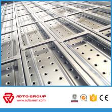 Precio de fábrica de la pasarela de metal perforado con ganchos hechos en China a África