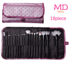 Popular 18PCS Cosmetic Brush Set with Soft Synthetic Hair (TOOL-117)