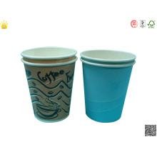 Напечатанная Логосом Устранимая Чашка Холодной Бумаги, Соды Бумажный Стаканчик, Горячая Чашка Бумага