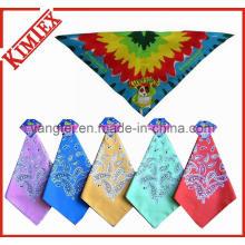 Customized Fashion Printing Dog Triangle Bandana
