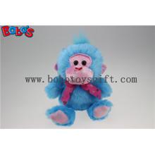 Promotional Produce Soft Blue Monkey Stuffed Animal Toy
