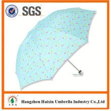 Neueste Fabrik Großhandel Sonnenschirm Print Logo Förderung Regenschirm