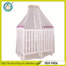 New model design wooden baby bed