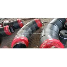 Steel Jacket Polyurethane Foam Insulation Pipe Fitting
