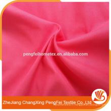 100% Polyester Tissu solide brossé à un seul côté 105gsm Largeur large
