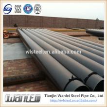 astm a53b a 106 tubería de drenaje corrugado de gran diámetro
