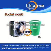 TUV assesment mould factory/new design plastic bucket injection moulding machine in China