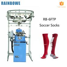 Automatische computerisierte Strumpfwaren, die Jacquardfußballsocken-Strickmaschinenmaschine machen, tun Socken