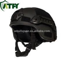NIJ IIIA 9mm or 0.44 MICH non-metallic ballistic kevlar helmet