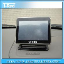 soporte de la tableta, soporte del teléfono móvil, soporte de piso de cristal templado para el ipad / la tableta
