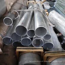 Tubo de alumínio usado marinho 5083