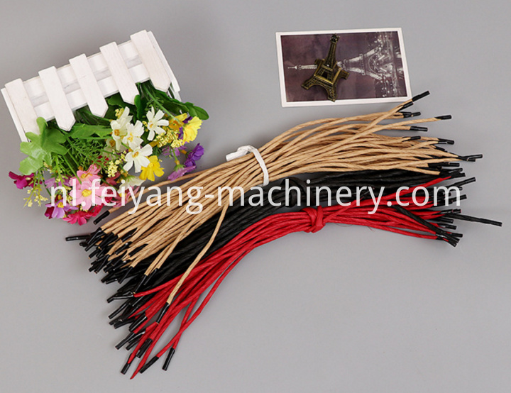 Brown Color Twisted Paper Cord for Bag Handles