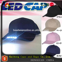100% cotton baseball cap and hat wholesale made in Guangdong manufacturer