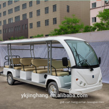72v electric sightseeing car/electric sightseeing bus with 8 11 14 seats for sale