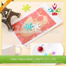 Bunte Schneeflocke Pailletten Applikation Weihnachten Dekorationen hohe Qualität