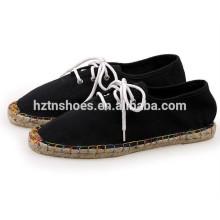 Горячие продажи Мужчины вскользь Espadrille обувь с кружевом