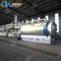 Máquina de pirólise para óleo de carbono preto